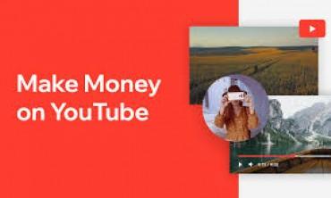 العمل عبر الإنترنت ,  كسب المال على يوتيوب في 2021