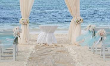 تخطيط إكسسوارات الزفاف الخاصة بك على الشاطئ