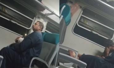 المتهم بارتكاب الفعل الفاضح في القطار