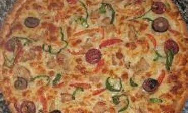 بيتزا المقلاية بدون فرن